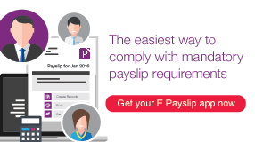 myBusiness Essentials Payslip