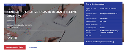 Graphic Design SkillsFuture