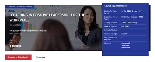Positive Leadership SkillsFuture