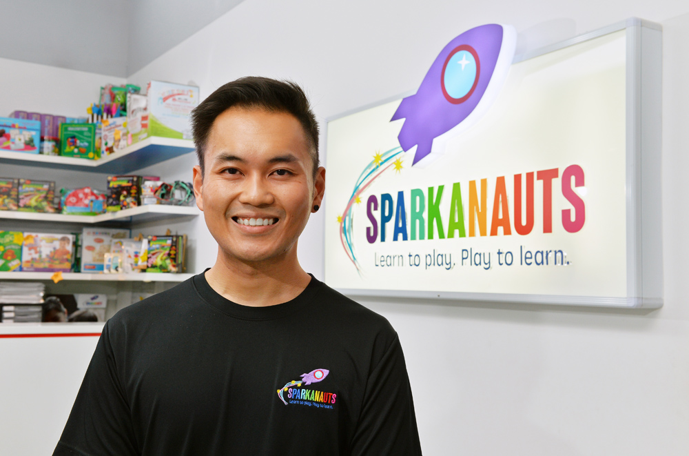 Sparkanauts Manager, Steven Diong