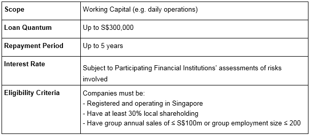 SME working capital loan 2019